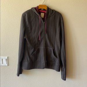 Gramicci Anthropologie  Gray hoodie Jacket